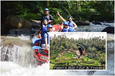 Ayung River Rafting - Swing